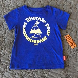 NWT Prefresh Liberate Your Awesome T-Shirt size 3T